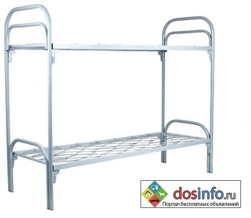 Кровати металлические для казарм опт от 10 штук ГОСТ