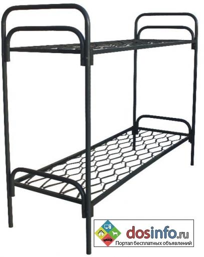 Кровати металлические для тюрем оптом дешево