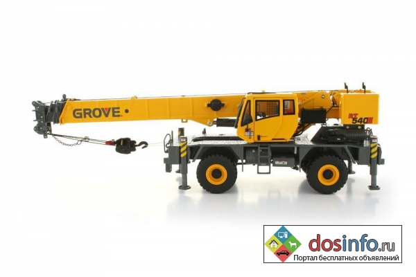 Запчасти на подъемный кран (Грове)  Grove RT 540E