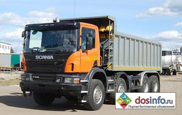 Запчасти на самосвалы Scania (Скания)